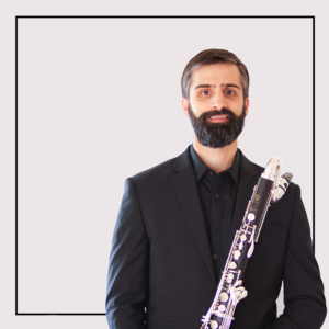 Jeff Anderle, clarinet