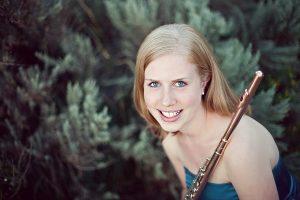 Johanna Gruskin, flute